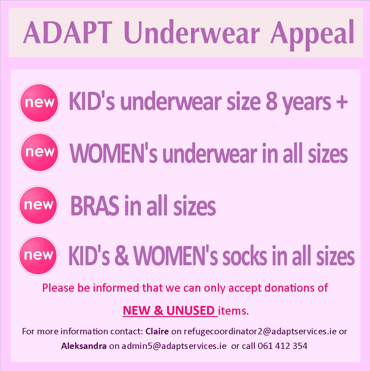 Underwear appeal
