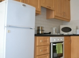 The apartments have fully equipped kitchens.