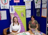 Our stand at the Community and Voluntary fair 2010